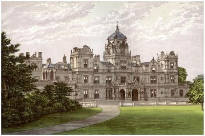 Westonbirt House, Gloucestershire, Home of the Holford Family, C1880-Benjamin Fawcett-Giclee Print
