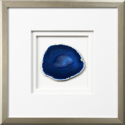 Westport Framed Agate - Blue--Dimensional Product