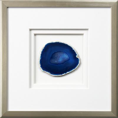 Westport Framed Agate - Blue