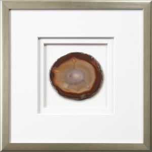 Westport Framed Agate - Earthtone
