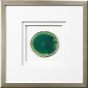 Westport Framed Agate - Green