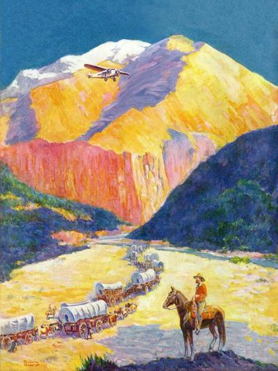 """""""Westward Ho!,""""March 1, 1931-Frederick Anderson-Giclee Print"""