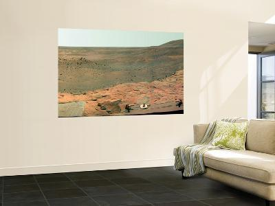 Westward View of Mars, False Color--Wall Mural
