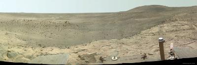 Westward View of Mars, True Color-Stocktrek Images-Photographic Print
