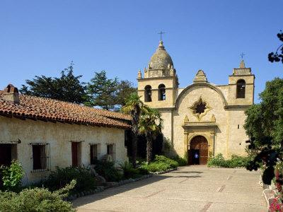 Carmel Mission Basilica, Founded in 1770, Carmel-By-The-Sea, California, USA