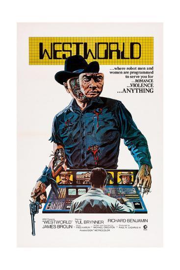 Westworld, Yul Brynner, 1973--Giclee Print