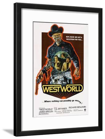 Westworld, Yul Brynner, James Brolin, Richard Benjamin, 1973