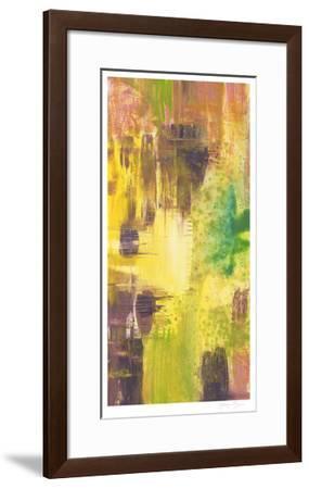 Wet on Wet I-Jennifer Goldberger-Framed Limited Edition