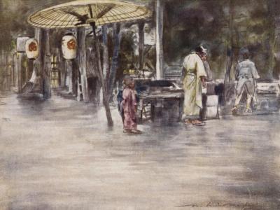 Wet Weather-Mortimer Ludington Menpes-Giclee Print