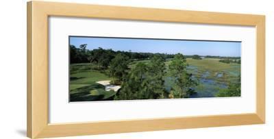 Wetlands in a Golf Course, Cougar Point, Kiawah Island Golf Resort, Kiawah Island