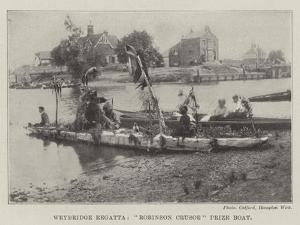 Weybridge Regatta, Robinson Crusoe Prize Boat