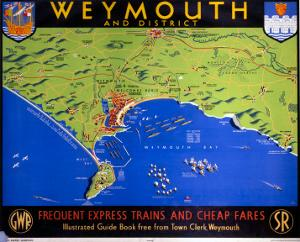 Weymouth and District, Dorset, SR/GWR, c.1938