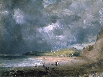 Weymouth Bay, 1816-John Constable-Giclee Print
