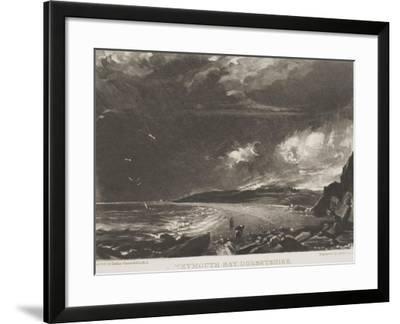 Weymouth Bay, Dorsetshire, 1830--Framed Giclee Print