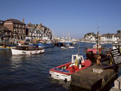Weymouth Harbour, Dorset, England, United Kingdom-Jenny Pate-Photographic Print