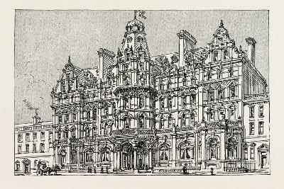 Weymouth: View of the Proposed New Grand Hotel--Giclee Print