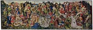 The Chatsworth Hunting Tapestries, First of the Series, 1930 by WG Thomas