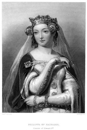 Philippa of Hainault, Queen Consort of Edward III
