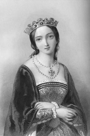 Queen Mary I (1516-155), 1851
