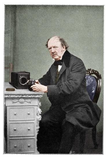 WH Fox Talbot, British photography pioneer, 1901-Unknown-Photographic Print