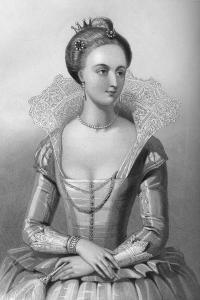 Anne of Denmark, Queen Consort of King James I, 1851 by WH Mote