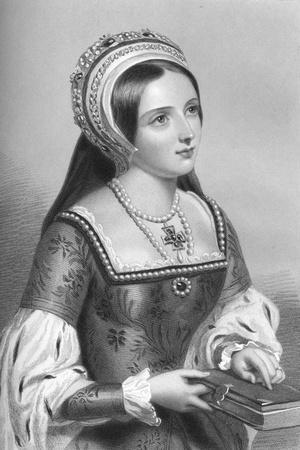 Catherine Parr (1512-154), the Sixth Wife of King Henry VIII, 1851