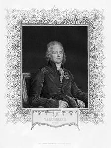 Charles Maurice De Talleyrand-Perigord, French Diplomat, 19th Century by WH Mote
