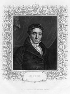Emmanuel Joseph Sieyès (1748-183), French Abbot and Statesman, 19th Century by WH Mote