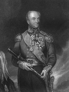 General Rowland Hill, Commander-In-Chief of the British Army, C1830-C1835 by WH Mote