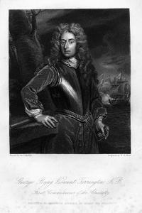 George Byng, Viscount Torrington, 1837 by WH Mote