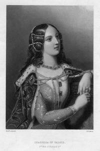Isabella of Valois, Second Wife of Richard II, C1860 by WH Mote
