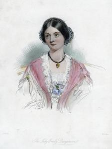 Lady Emily Dungarvon, 19th Century by WH Mote