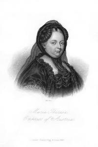 Maria Theresa, Archduchess of Austria by WH Mote
