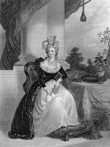 Marie Antoinette, Queen of France and Navarre, C1840-1860 by WH Mote