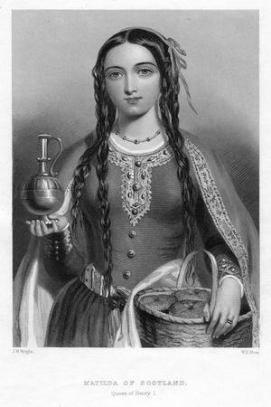 Matilda of Scotland, Queen of Henry I