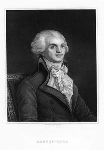 Maximilien Robespierre, One of the Leaders of the French Revolution, 19th Century by WH Mote