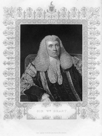 Sir William Grant (1752-183), Scottish Lawyer and Politician, 19th Century