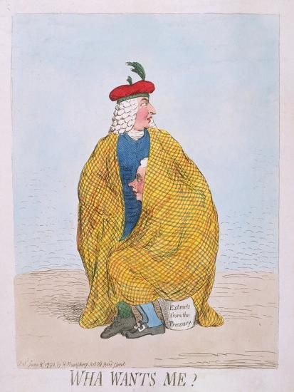 Wha Wants Me? Published by Hannah Humphrey in 1792-James Gillray-Giclee Print