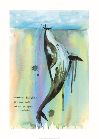 Whale A La Art Print By Lora Zombie Artcom