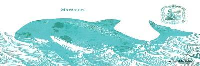 Whale on White II-Gwendolyn Babbitt-Art Print