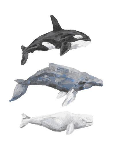 Whale Painting Trio 1-Jetty Printables-Art Print