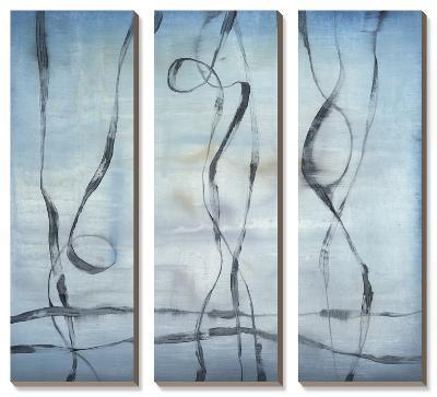 Whale Songs-Jennifer Goldberger-Canvas Art Set