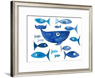 Whale Tail 1-T.J. Heiser-Framed Art Print