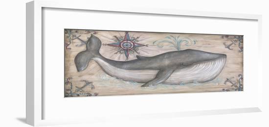 Whale Watch I-Kate McRostie-Framed Art Print