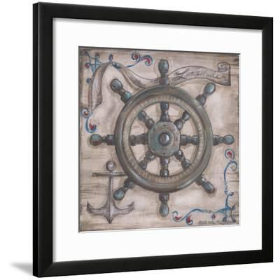 Whale Watch Wheel-Kate McRostie-Framed Art Print