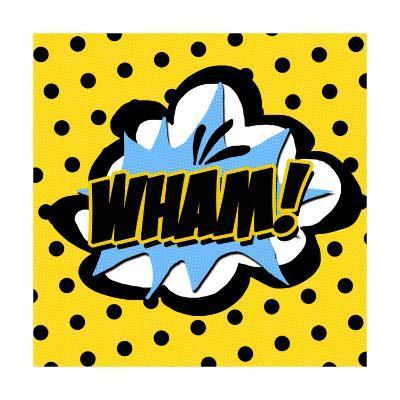 Wham-Anna Quach-Art Print