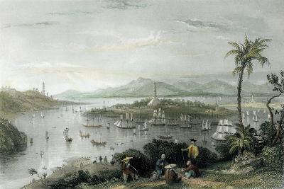 Whampoa from Danes Island-Thomas Allom-Art Print