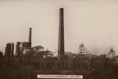 Wharncliffe Woodmor Colliery, Yorkshire--Photographic Print