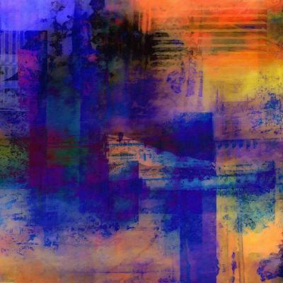 What a Color Art Series Abstract 11-Ricki Mountain-Art Print