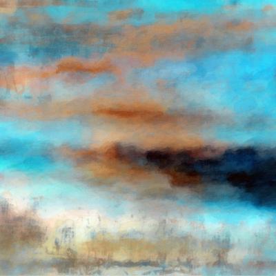 What a Color Art Series Abstract 12-Ricki Mountain-Art Print